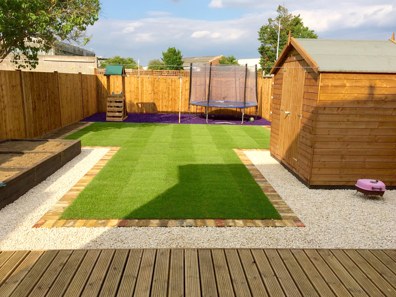 Family gardens london for Landscape design london