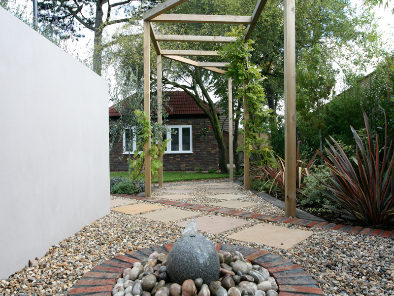 Contemporary Garden Landscaping Wimbledon