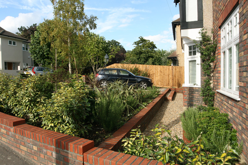 Front Garden Landscaping Wimbledon