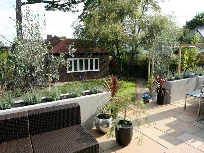 Contemporary Garden Wimbledon
