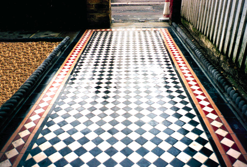 Victorian Tile Path Wallington