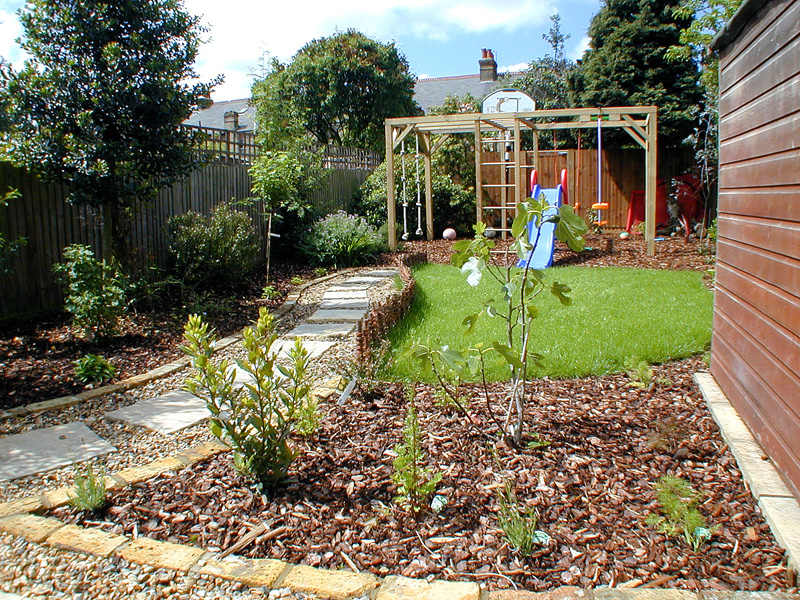 Family Garden Design Surrey