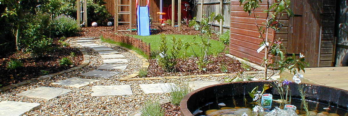 Family Garden Design Sutton