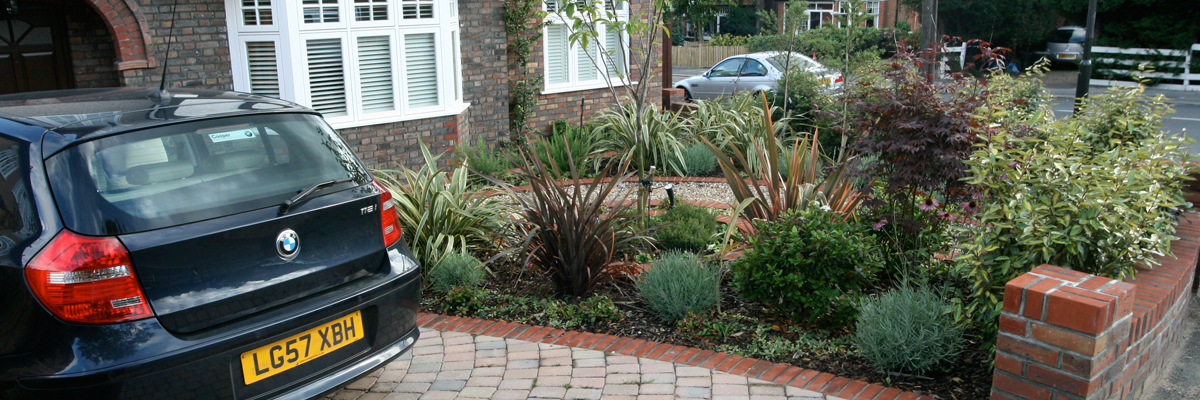 Front Garden Designs Wallington