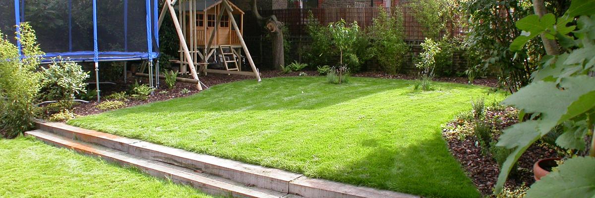 Large Garden Design Putney