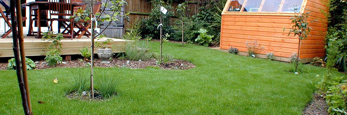 Large Garden Design Epsom