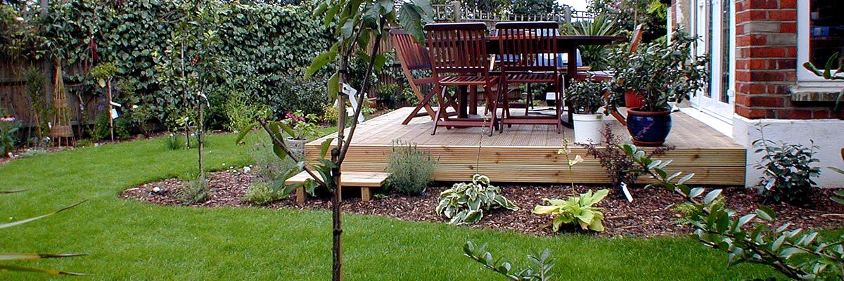 Large Garden Design Wimbledon