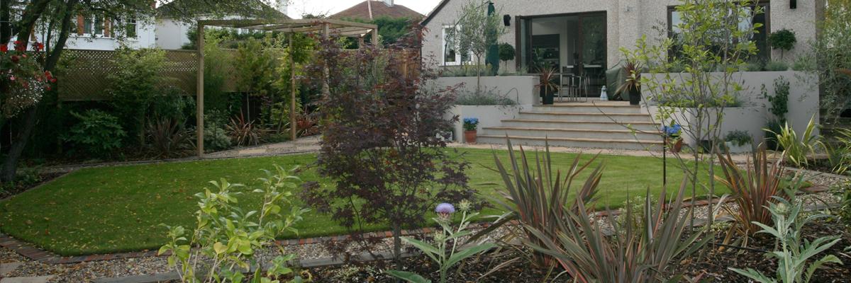 Large Garden Landscaping Putney