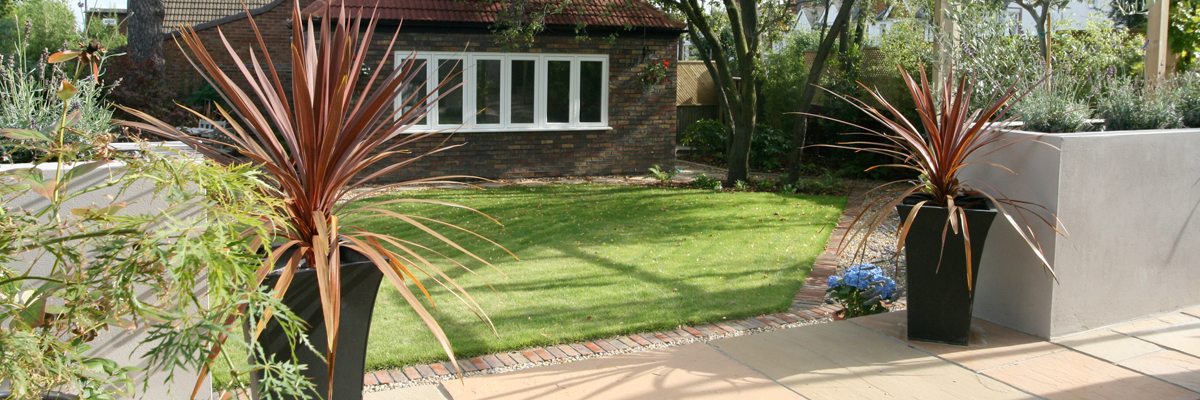 Large Garden Landscaping Merton