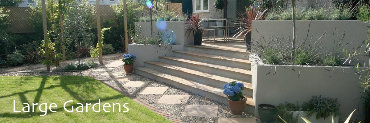 Large Garden Design London