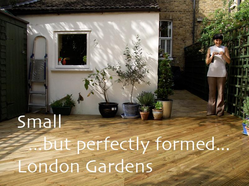Small London Gardens