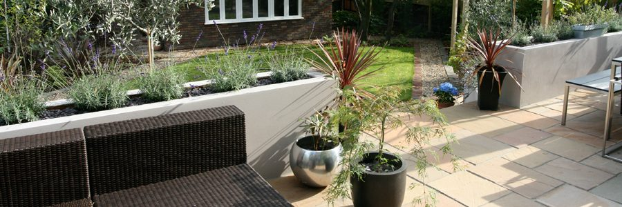 Large Garden Landscaping London
