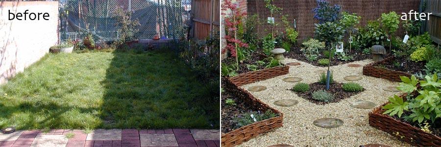 Small Garden Landscaping Croydon