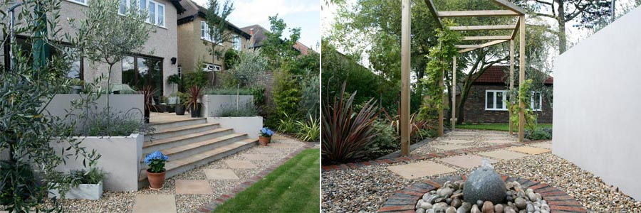 Contemporary Garden Landscapers Wimbledon