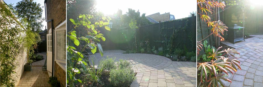 Small Garden Design Wandsworth