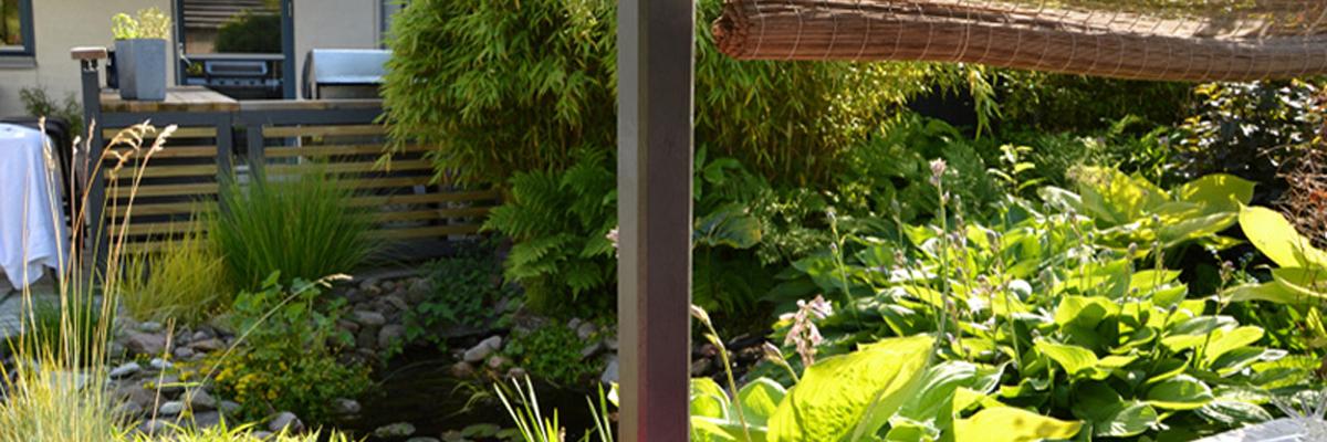 Contemporary Garden Landscapers Wallington