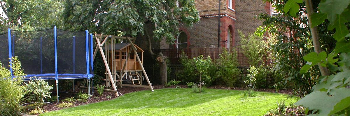 family gardens by garden designers  u0026 landscapers  sutton  south london