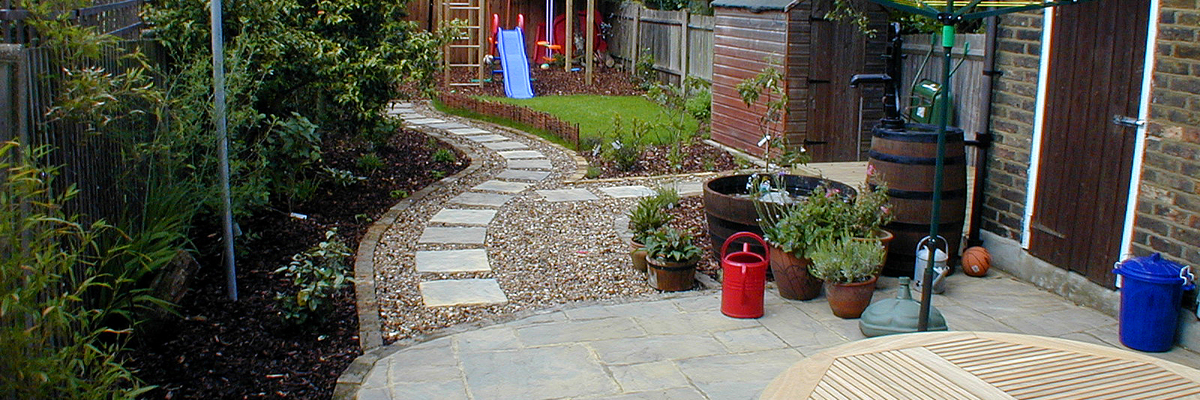 Family Garden Design Wallington