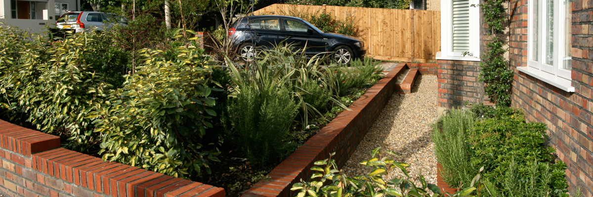 Front Garden Design Wallington