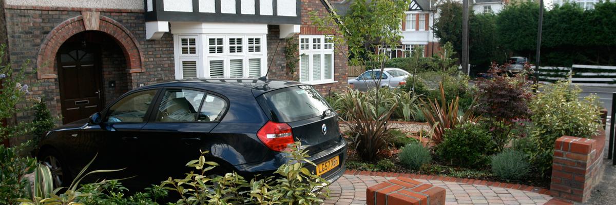 Front Garden Landscaping Surrey