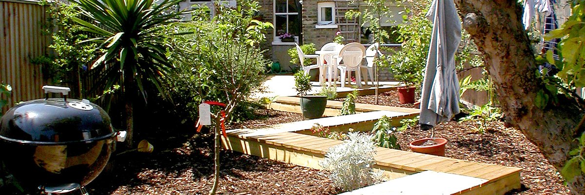Large Garden Landscaping Sutton
