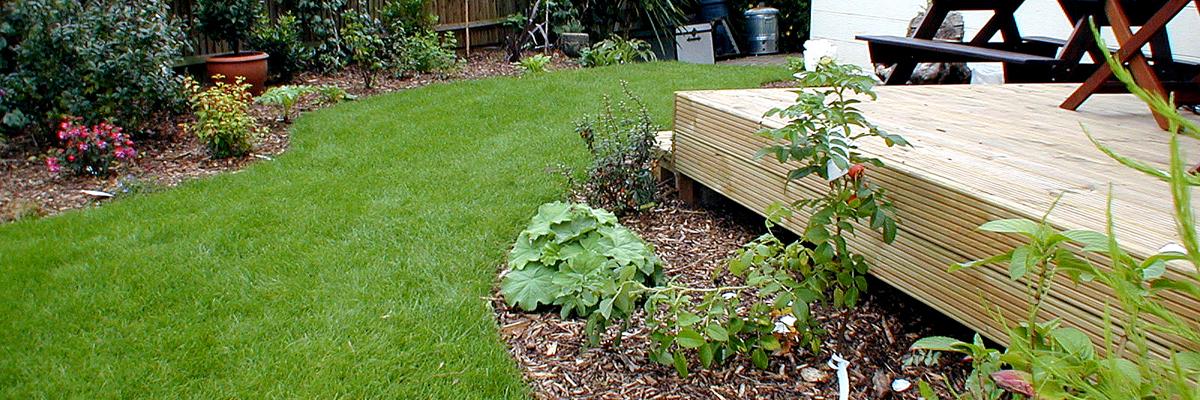 Large Garden Landscaping Epsom